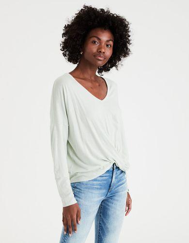 altavoz Chillido mesa  Camisetas manga larga para mujer | American Eagle